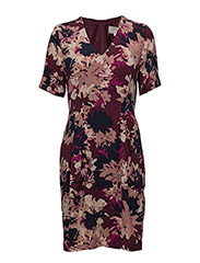 Montana Dress LW - AUTUMN FLOWERS WINETASTING