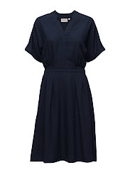 Marguerite Dress LW - MIDNIGHT
