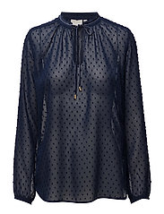 Melrose Blouse LW - MIDNIGHT