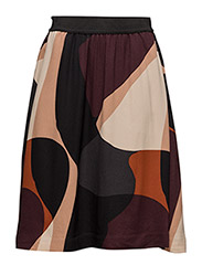 Muriel Skirt LW - SIMPLIFIED COLLAGE WINETASTING