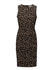 Lex Dress HW - LEOPARD CAMOUFLAGE