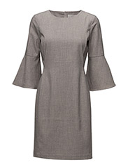 Leika Dress HW - NEW LIGHT GREY MELANGE