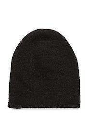 Nevis Knit Hood KNIT - BLACK