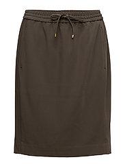 Lori Pull On Skirt HW - DARK OLIVE