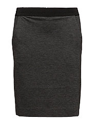 Nira Skirt KNTG - DARK GREY MELANGE