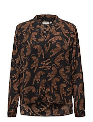 Dominique Blouse LW - LEOPARDS