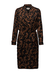 Dominique Dress LW - LEOPARDS