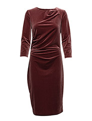 Nisas Dress KNTG - LIGHT PLUM