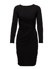 Krystal Dress KNTG - BLACK