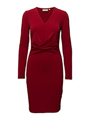 Karma Dress KNTG - TRUE RED