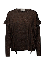 Karter Copper Pullover KNIT - COPPER