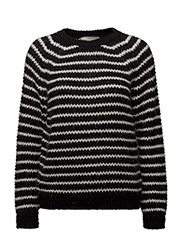 Kamma Pullover KNIT - BLACK AND WHITE