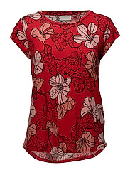 Celestin MS_18 Print - SPRING FLOWERS RED