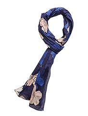 Helvi Scarf - SPRING FLOWERS ORIENT BLUE