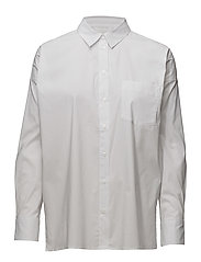 Baldwin Short Shirt LW - PURE WHITE