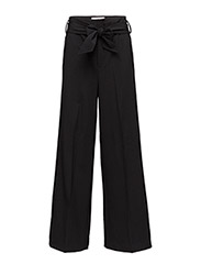 Chaia Wide Pant HW - BLACK