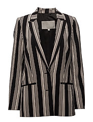 Chan Blazer - STRIPE FRENCH NOUGAT