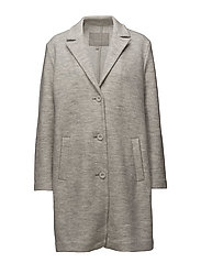 Cardea Coat OW - NEW LIGHT GREY MELANGE