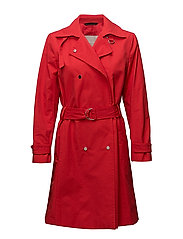 Cactus Coat - RACING RED