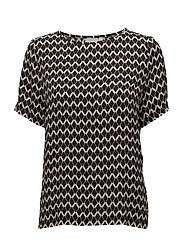 Blake Top LW - IW SIGNATURE PRINT BLACK