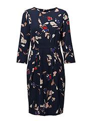Brighton Dress LW - PAINTED FLOWER MIDNIGHT