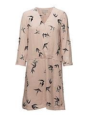 Byrdie Dress - SWALLOWS CAMEO ROSE