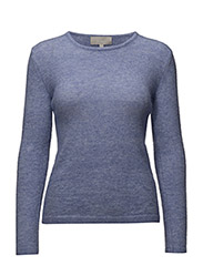 Tia MS_18 Pullover KNIT - BLUEBELL