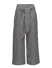 Polina Pant LW - BLACK AND WHITE STRIPE
