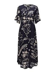Roisin Dress LW - BOTANICALS MIDNIGHT