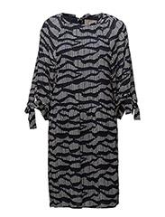 Ria Dress LW - SHADOWS MIDNIGHT