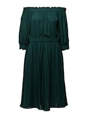 Robyn Dress - DARK JADE