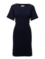 Alexa Tie Dress KNTG - MIDNIGHT