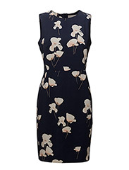 Ziba Dress HW - POPPIES MIDNIGHT