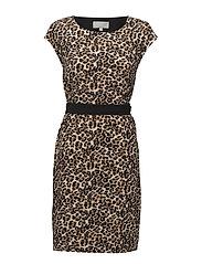 Saffron Dress HW - LEOPARD