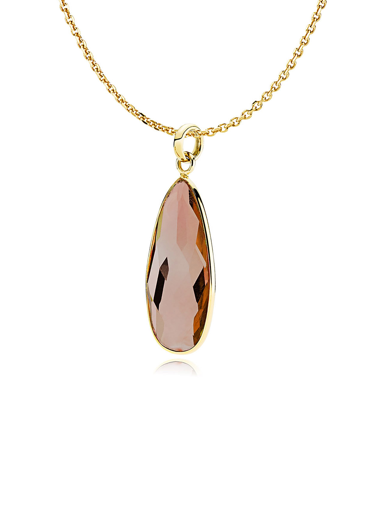 Giant Drop Necklace Izabel Camille Smykker til Damer i