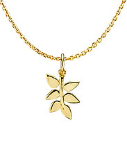 Poetry Necklace - SHINY GOLD