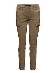 K153 HOULIHAN Mid Rise Cargo - DISTRESSED SAND DUNE