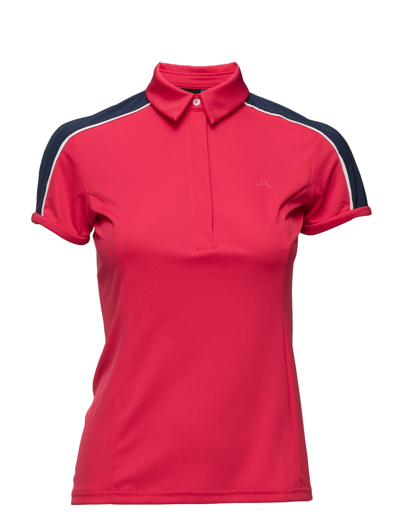 W Alva Slim  Tx Jersey J. Lindeberg Golf Golf polo t-shirts til Damer i Koral