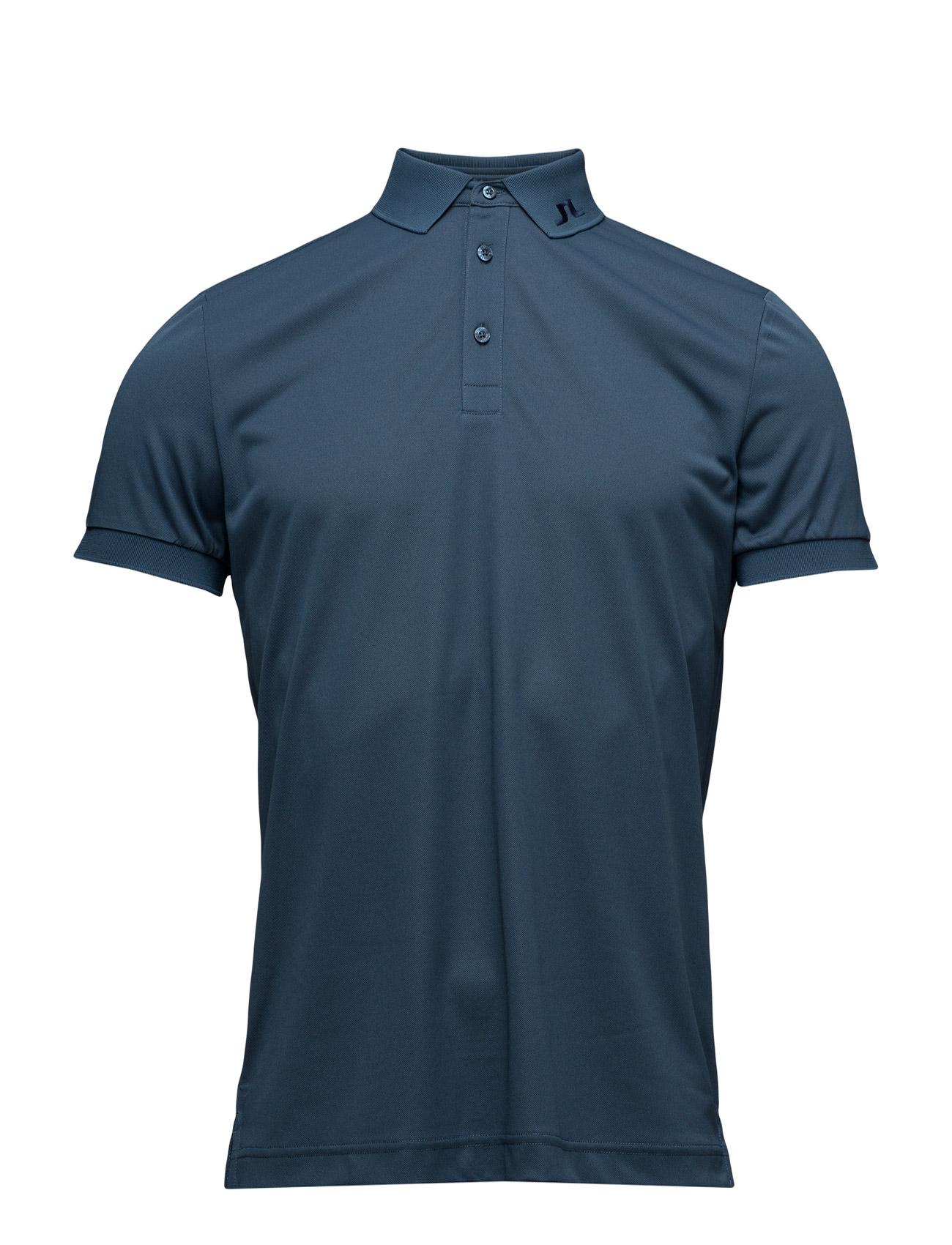 M Kv Reg Tx Pique J. Lindeberg Golf Golf polo t-shirts til Mænd i indigo