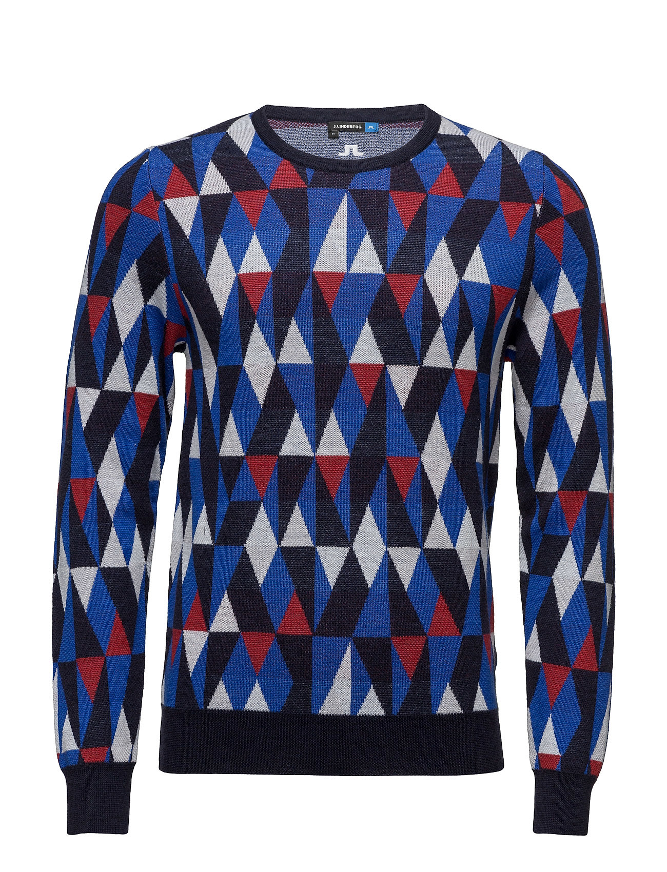 M Argyle Sweater True Merino J. Lindeberg Golf Sports toppe til Mænd i