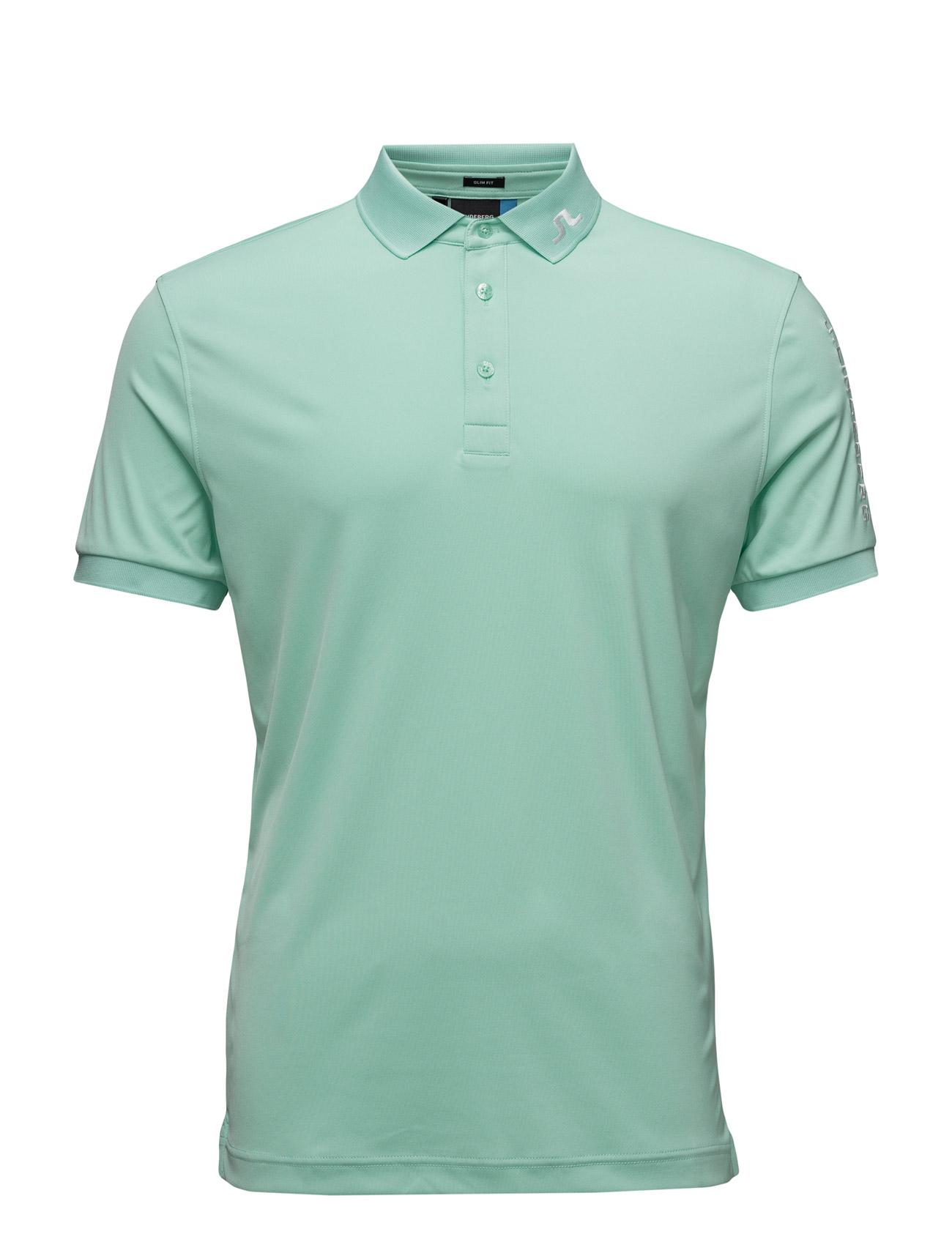 M Tour Tech Slim Tx Jersey J. Lindeberg Golf Sports toppe til Mænd i