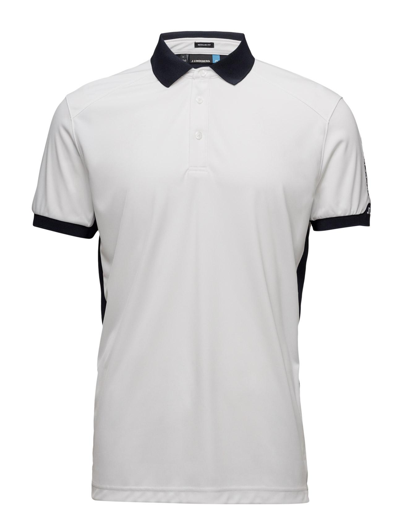 M Dennis Reg Tx Jersey J. Lindeberg Golf Golf polo t-shirts til Herrer i hvid