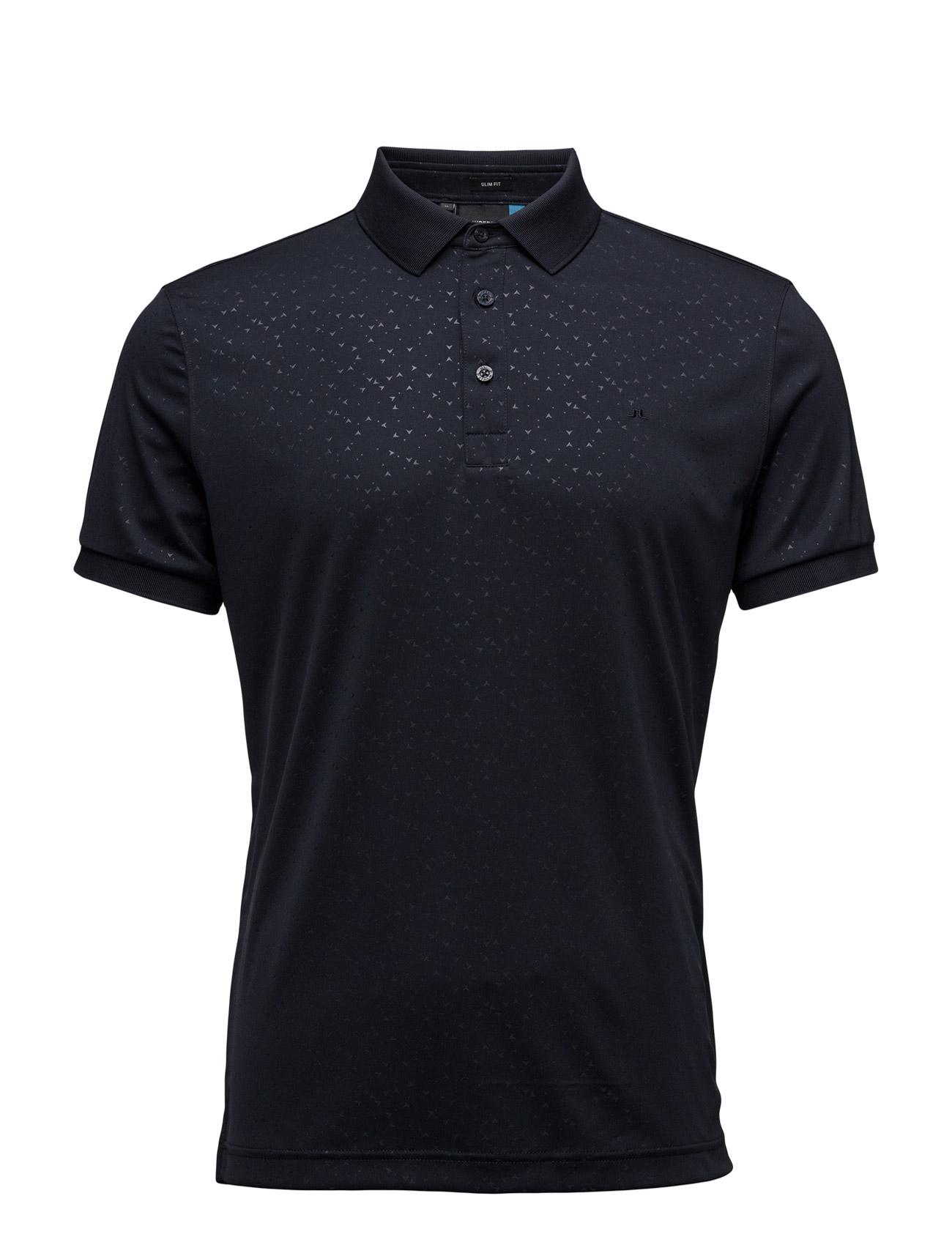 M David Slim Tx Jersey J. Lindeberg Golf Golf polo t-shirts til Herrer i