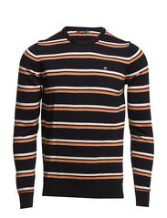 J. Lindeberg Golf David Striped Fine Cotton