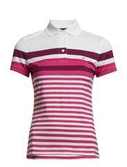 W Aubrey Lux Stripe Jersey - Pink Intense