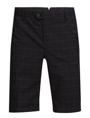 M Carl Slim fit ULC Cotton - Checked Dk Grey