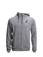 M Dann slim Compact Sweat - Lt Grey Melange