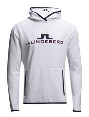 M Logo Hood Tech Jersey - White