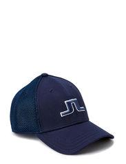 Bon Flexi Twill Cap - Navy/Purple