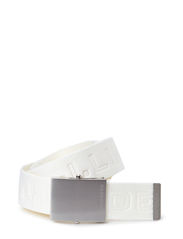 Plainer Logged Webbing - White